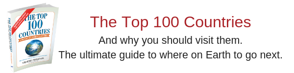Top 100 Countries Book, Travel