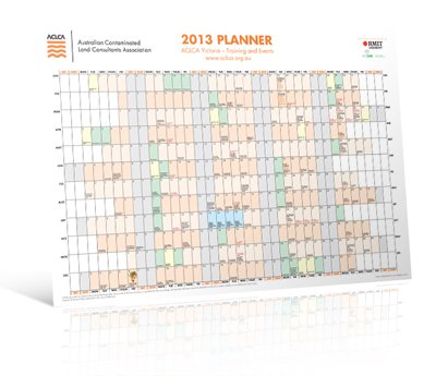 ACLCA Wall Planner